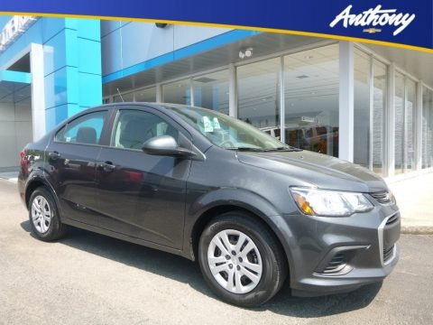 Nightfall Gray Metallic 2018 Chevrolet Sonic LS Sedan