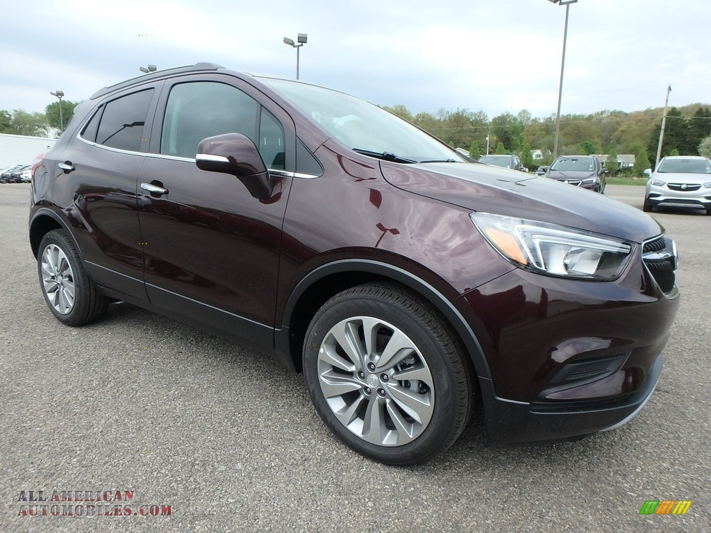 2018 Encore Preferred - Black Cherry Metallic / Ebony photo #3
