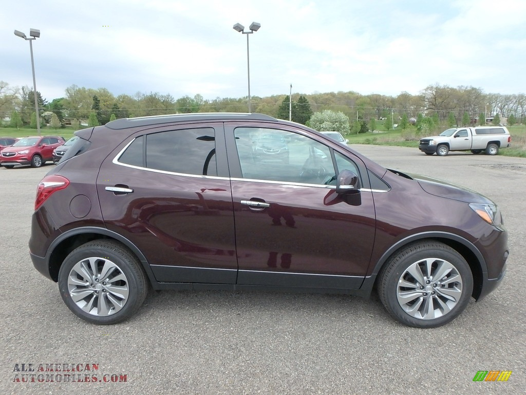 2018 Encore Preferred - Black Cherry Metallic / Ebony photo #4