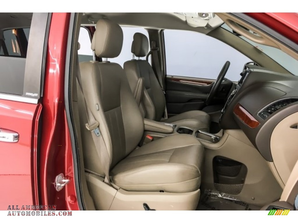 2014 Town & Country Touring-L - Deep Cherry Red Crystal Pearl / Dark Frost Beige/Medium Frost Beige photo #6
