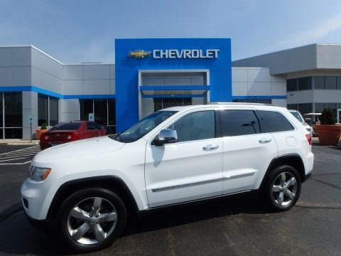 Bright White 2013 Jeep Grand Cherokee Limited 4x4