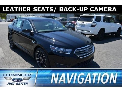 Shadow Black 2018 Ford Taurus SEL