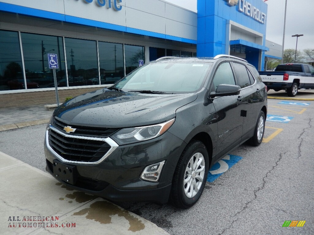 2018 Equinox LT - Nightfall Gray Metallic / Jet Black photo #1