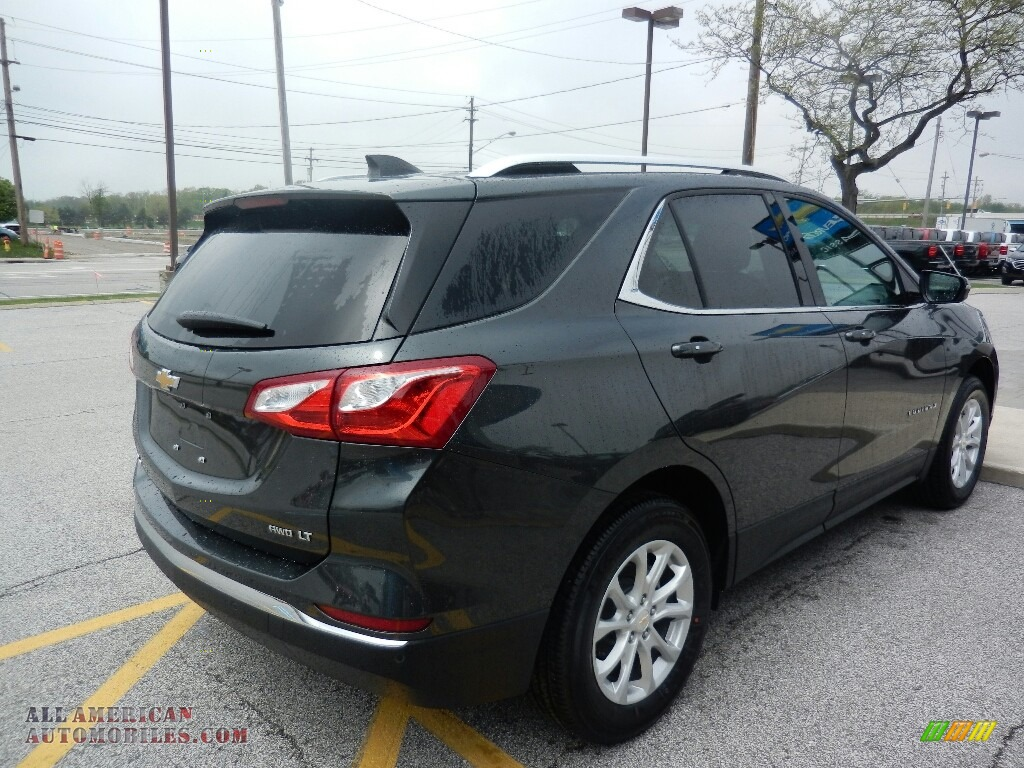 2018 Equinox LS - Nightfall Gray Metallic / Medium Ash Gray photo #4