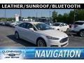 Ford Fusion SE Oxford White photo #1