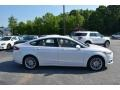 Ford Fusion SE Oxford White photo #2