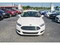 Ford Fusion SE Oxford White photo #7