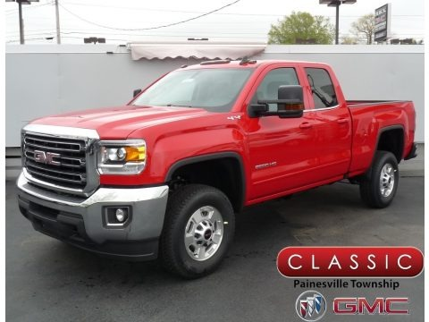 Cardinal Red 2018 GMC Sierra 2500HD Double Cab 4x4