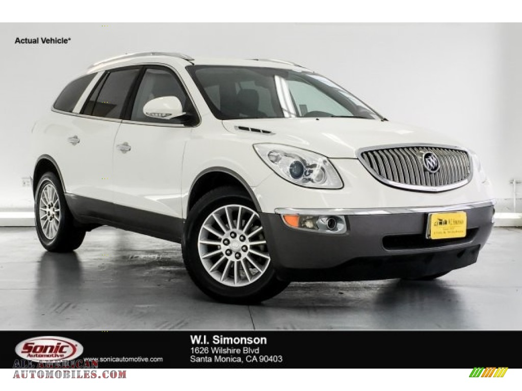 2010 Enclave CX - White Opal / Ebony/Ebony photo #1