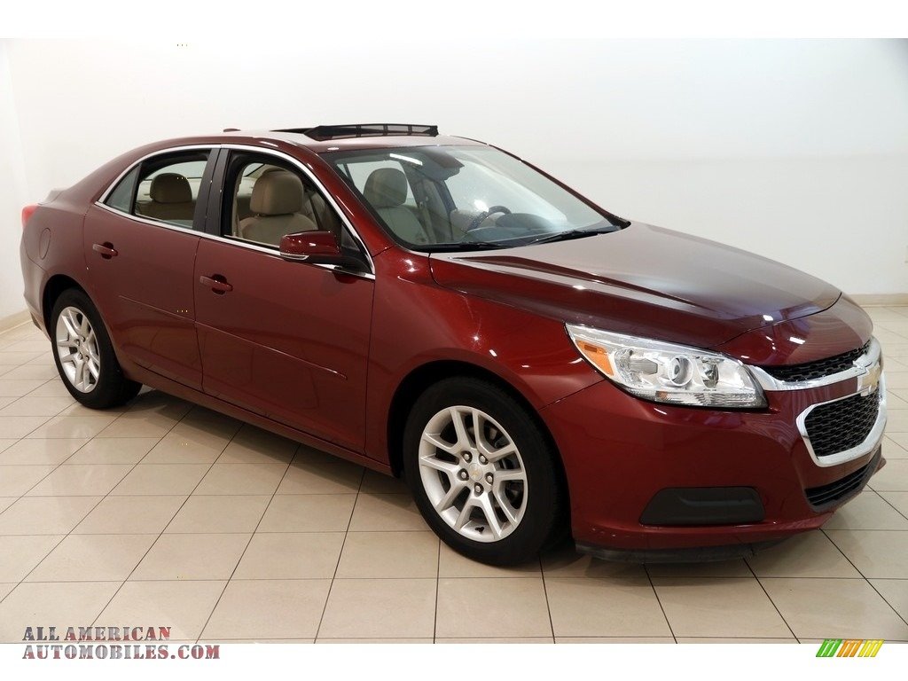 2016 Malibu Limited LT - Butte Red Metallic / Cocoa/Light Neutral photo #1