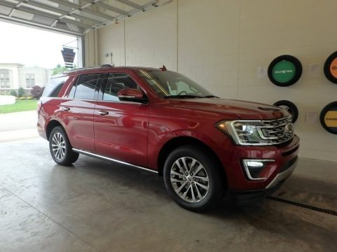 Ruby Red 2018 Ford Expedition Limited 4x4