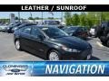Ford Fusion Hybrid SE Tuxedo Black Metallic photo #1