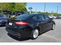Ford Fusion Hybrid SE Tuxedo Black Metallic photo #3