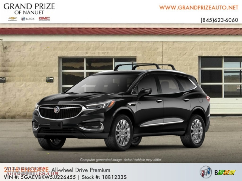 2018 Enclave Premium AWD - Ebony Twilight Metallic / Shale photo #1