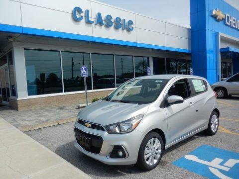 Silver Ice 2018 Chevrolet Spark LT