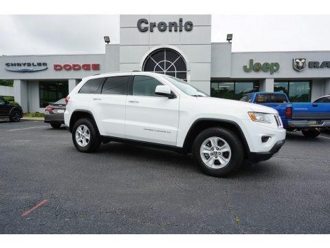 Bright White 2015 Jeep Grand Cherokee Laredo