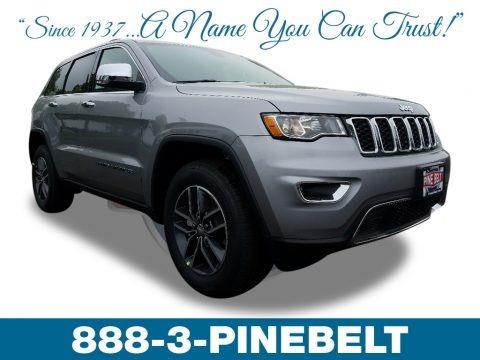 Billet Silver Metallic 2018 Jeep Grand Cherokee Limited 4x4