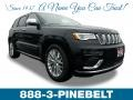 Jeep Grand Cherokee Summit 4x4 Diamond Black Crystal Pearl photo #1