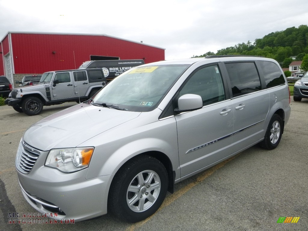 2012 Town & Country Touring - Bright Silver Metallic / Black/Light Graystone photo #1