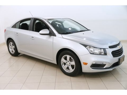 Silver Ice Metallic 2016 Chevrolet Cruze Limited LT