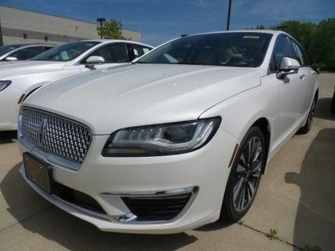 White Platinum Metallic Tri-Coat 2018 Lincoln MKZ Reserve AWD