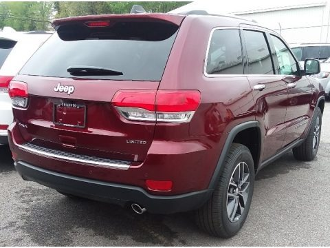 Velvet Red Pearl 2018 Jeep Grand Cherokee Limited 4x4