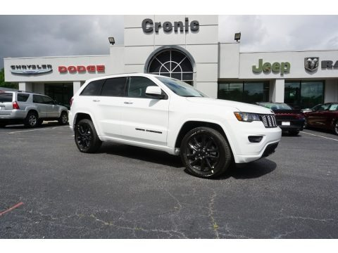 Bright White 2018 Jeep Grand Cherokee Altitude