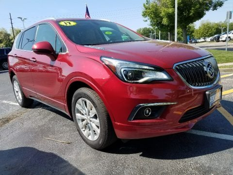 Chili Red Metallic 2017 Buick Envision Essence