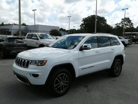 Bright White 2018 Jeep Grand Cherokee Limited
