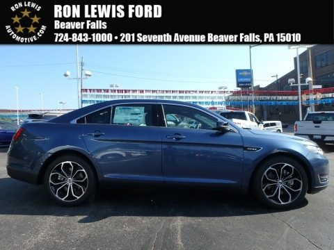 Blue 2018 Ford Taurus SHO AWD