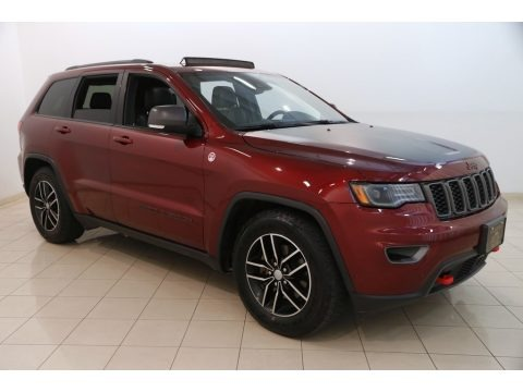 Velvet Red Pearl 2017 Jeep Grand Cherokee Trailhawk 4x4