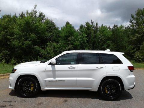 Bright White 2018 Jeep Grand Cherokee Trackhawk 4x4