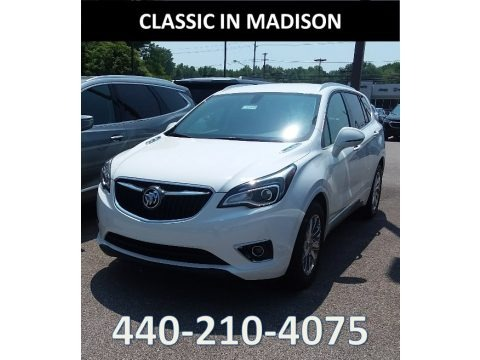 Summit White 2019 Buick Envision Essence