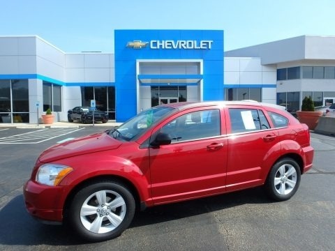 Inferno Red Crystal Pearl 2011 Dodge Caliber Mainstreet