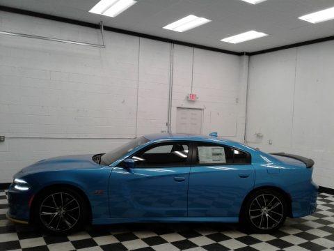 B5 Blue Pearl 2018 Dodge Charger Daytona 392