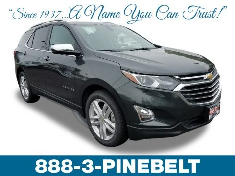 Nightfall Gray Metallic 2018 Chevrolet Equinox Premier