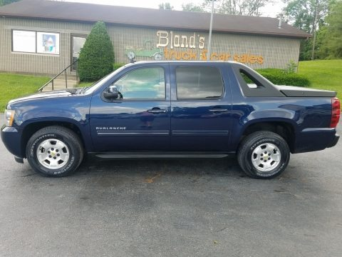 Imperial Blue Metallic 2010 Chevrolet Avalanche LS 4x4
