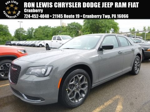 Ceramic Grey 2018 Chrysler 300 Touring AWD