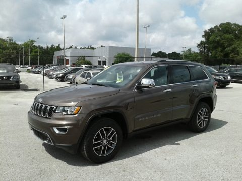 Walnut Brown Metallic 2018 Jeep Grand Cherokee Limited