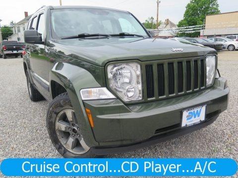 Jeep Green Metallic 2008 Jeep Liberty Sport 4x4