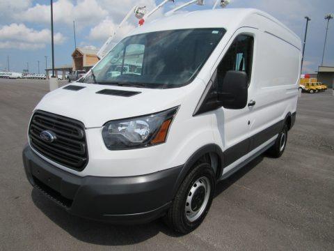 Oxford White 2018 Ford Transit Van 250 MR Regular