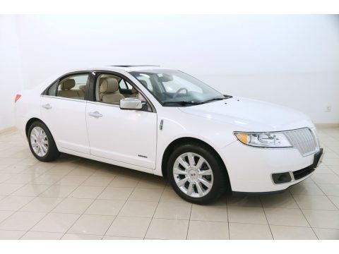 White Platinum Tri-Coat 2011 Lincoln MKZ Hybrid
