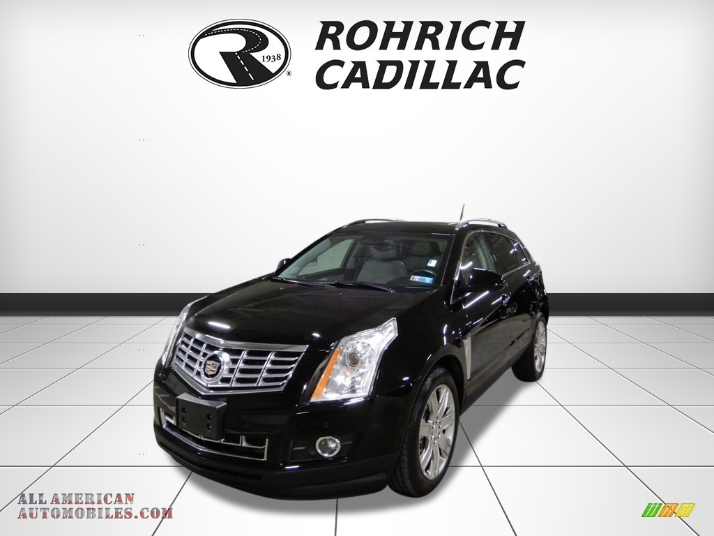 Black Raven / Light Titanium/Ebony Cadillac SRX Performance
