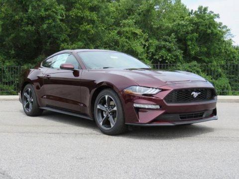 Royal Crimson 2018 Ford Mustang EcoBoost Fastback