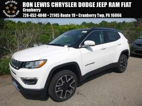 White 2018 Jeep Compass Limited 4x4