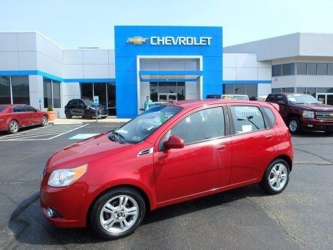 Sport Red 2011 Chevrolet Aveo Aveo5 LT