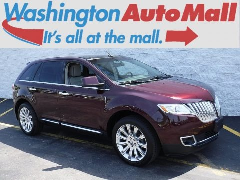Bordeaux Reserve Red Metallic 2011 Lincoln MKX AWD