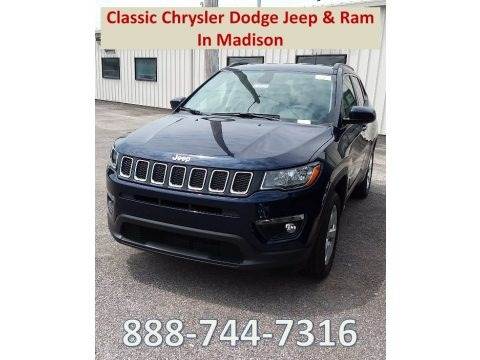 Jazz Blue Pearl 2018 Jeep Compass Latitude 4x4