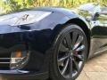 Tesla Model S P85D Performance Blue Metallic photo #9