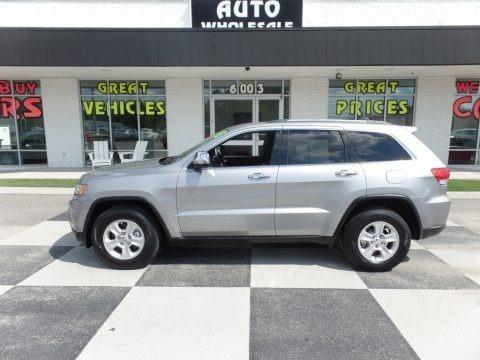 Billet Silver Metallic 2015 Jeep Grand Cherokee Laredo